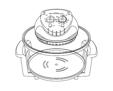 layout of a halogen cooker