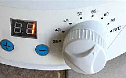 Temperature Dial & Digital Timer